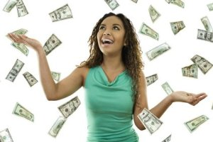 happy-woman-with-raining-money